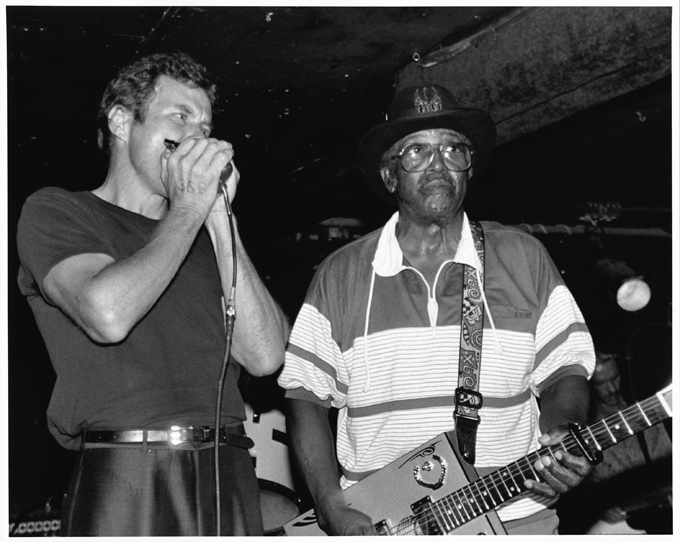 johnny tanner with Bo Diddley